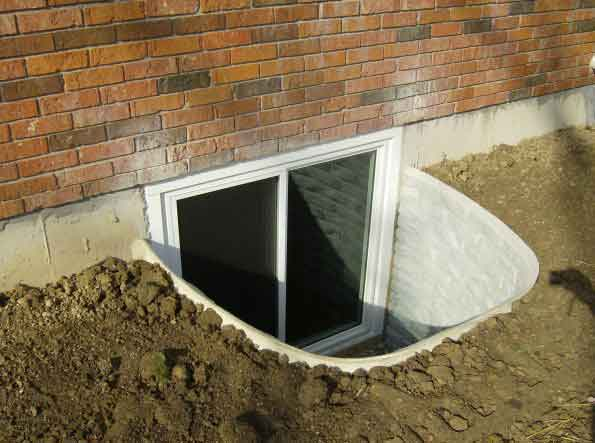 Picture of an egress window
