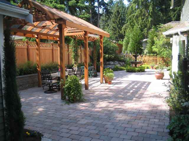 Picture of a patio